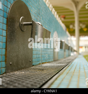 Source in spa of Vichy, Auvergne, France, Europe - Stock Photo