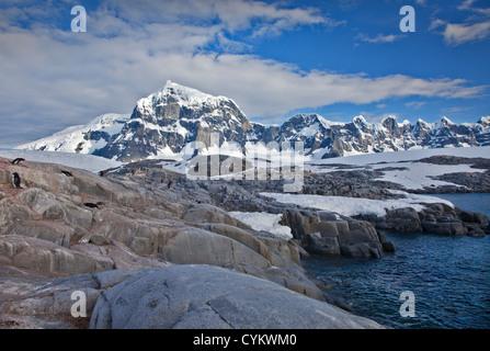 Port Lockroy, Antarctic Peninsula - Stock Photo