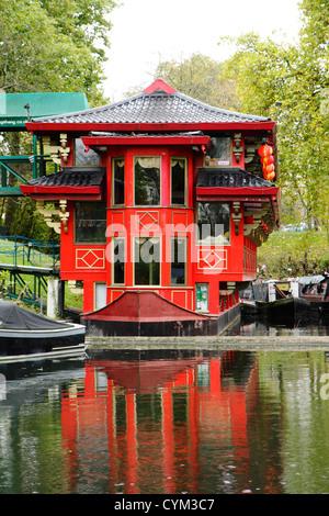 Floating Chinese Restaurant London Regents Park