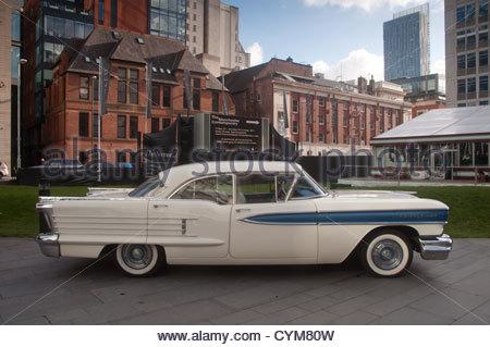 1958 Oldsmobile Eighty Eight 4 Door Sedan - Stock Photo