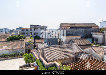 old style village in China  - Stock Photo
