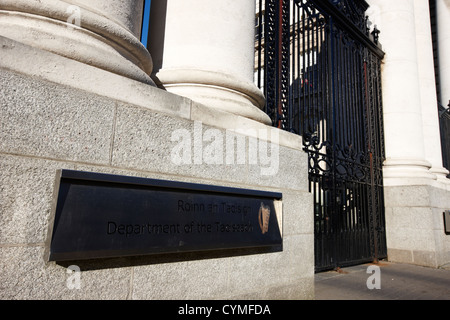 government buildings office of the department of the taoiseach dublin republic of ireland - Stock Photo