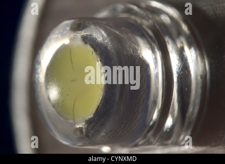 Close up shot of a single led torch - Stock Photo