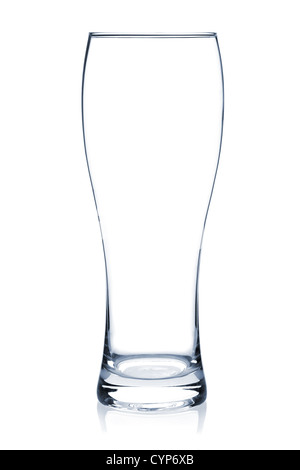 Cocktail Glass Collection - White Beer. Isolated on white background - Stock Photo