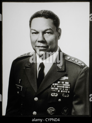 Colin Powell, Chairman of Joint Chiefs of Staff, 1989-1993, Highest US Military Position in Department of Defense - Stock Photo