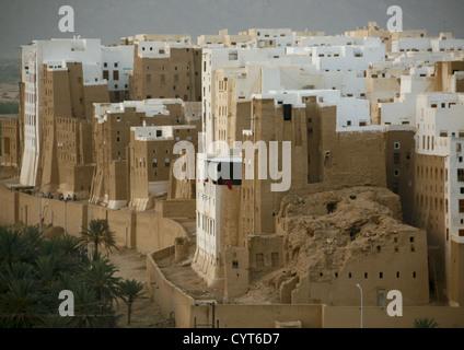 Old Town Of Shibam, Yemen - Stock Photo