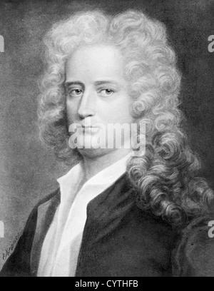 Joseph Addison, poet and essayist - Stock Photo