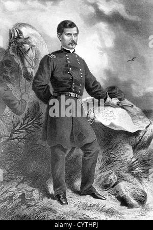 American General George McClellan - Stock Photo