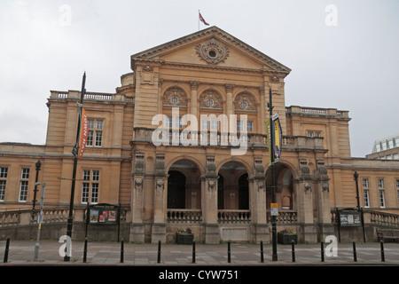 Cheltenham Town Hall in Cheltenham, Gloucestershire, England. - Stock Photo