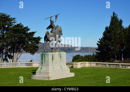 The Palace of the Legion of Honor, San Francisco CA - Stock Photo