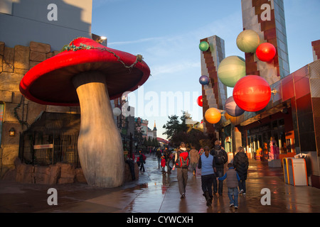 Disney Village at Disneyland Paris - Stock Photo