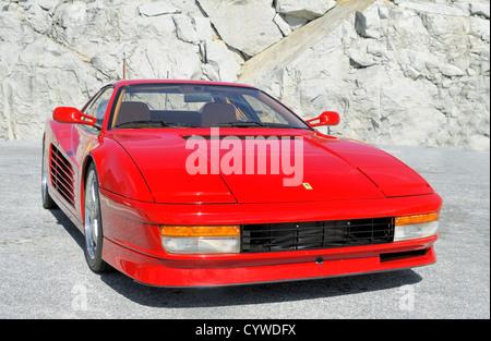 Ferrari Testarossa - Stock Photo