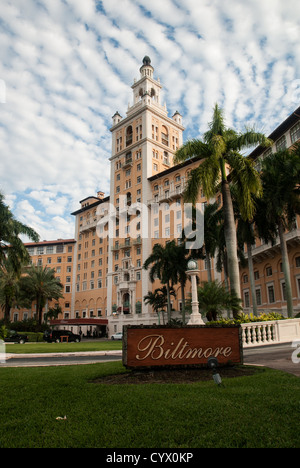 The Biltmore hotel in Coral Gables, Miami - Stock Photo