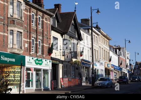 sudbury town centre suffolk england uk gb - Stock Photo