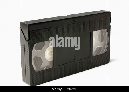 Close-up of a videocassette - Stock Photo
