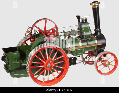 A well emgineered 1.5in scale model of a BURRELL 'DEVONSHIRE', single crank compound two speed three shaft general - Stock Photo