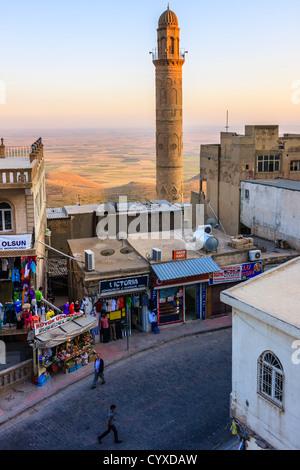 Ulu Cami, 12th Century Iraqi Seljuk structure. Mardin,Turkey - Stock Photo