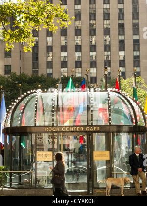 Rock Center Cafe New York Ny Usa