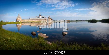 Spaso-Preobrazhenskiy solovetsky monastery,Karelia, Russia, - Stock Photo