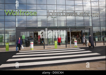 The first joint Waitrose and John Lewis store opened in Ipswich, Suffolk, England in November 2012 - Stock Photo