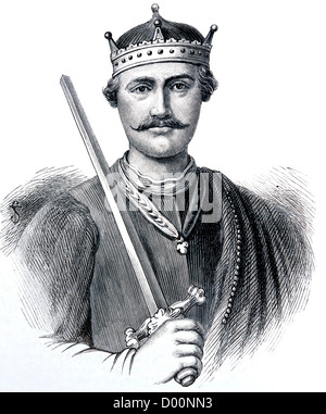 Illustration Of William The Conqueror From The Book Cassell's History Of England Volume 1 - Stock Photo