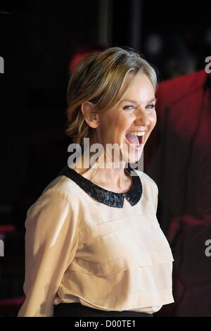 TV Presenter Lisa Maxwell attends the World Premiere of Nativity 2: Danger in the Manger on 13/11/2012 at Empire - Stock Photo
