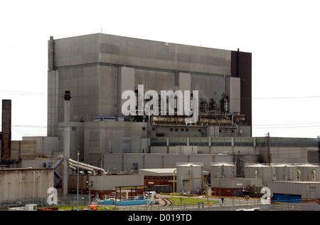 LANCASHIRE; HEYSHAM; THE NUCLEAR POWER STATION - Stock Photo