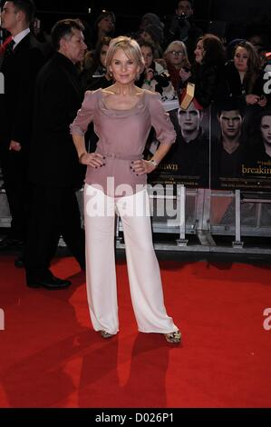 TV Presenter Lisa Maxwell attends the UK Premiere of The Twilight Saga Breaking Dawn Part 2 on 14/11/2012 at The - Stock Photo