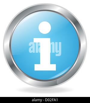 info button - Stock Photo