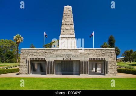 Perth War Memorial in Kings Park. - Stock Photo