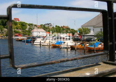 Brevik in south Norway. - Stock Photo