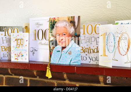 Telegram And Birthday Card From Queen Elizabeth Ll To Congratulate – 100 Birthday Card from Queen