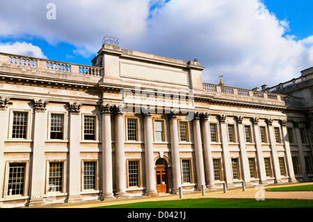 Trinity College of Music, Admiral's House, King Charles Court, Old Royal Naval College, Greenwich, London, UK - Stock Photo