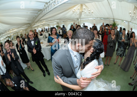 Wedding party, Firenze, Tuscany, Italy - Stock Photo