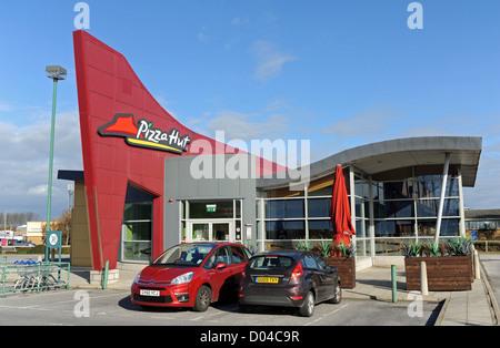 Pizza Hut Fast Food Restaurant Shop Take Away Worthing