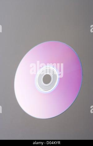 Blank DVD. - Stock Photo
