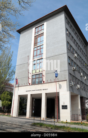 The Ministry of Finance of the Slovak Republic (ministerstvo financií slovenskej republiky) in Bratislava, Slovakia.