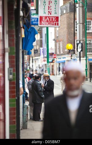 Brick Lane, London East End, E1 - Stock Photo