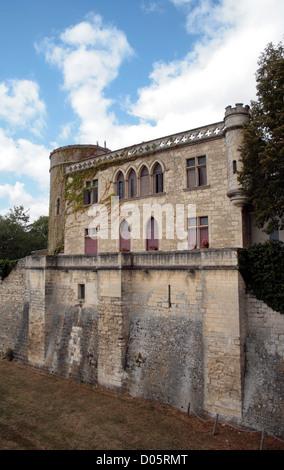 Maillezais (85) - Abbaye St Pierre Vendee Pays de La Loire France - Stock Photo