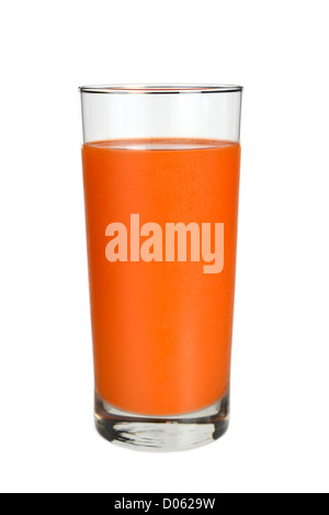 Glass of Carrot Juice - Stock Photo