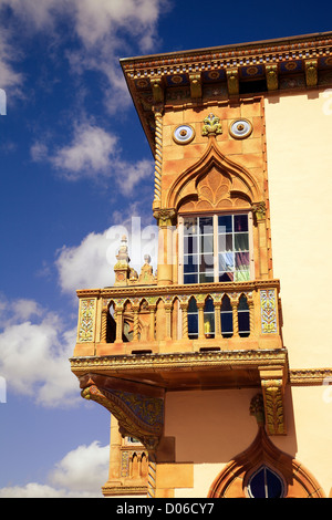 John and Mable Ringling Museum of Art Ca' d'Zan, mansion - Stock Photo