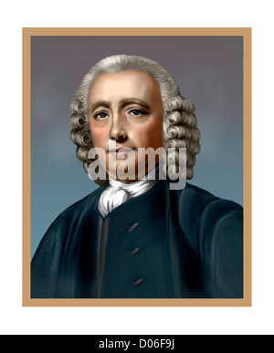 John Harrison 1693 1776 English Horologist Inventor - Stock Photo