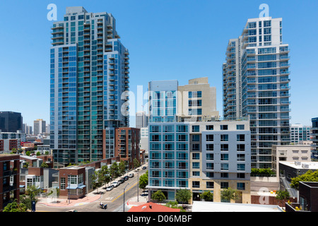 San Diego - 9th street from south end. - Stock Photo