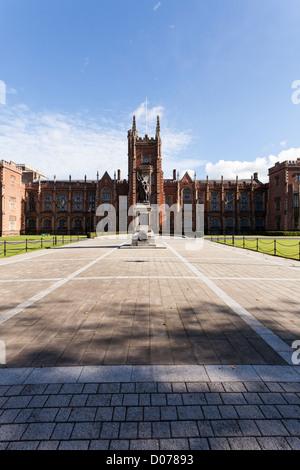 Queens University Belfast, Northern Ireland - Stock Photo