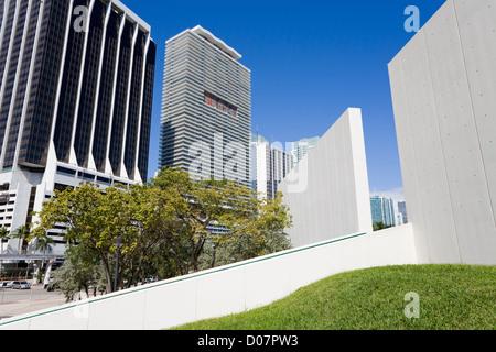 Bayfront Park,Miami,Florida,USA - Stock Photo
