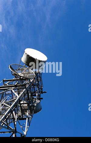 Communications tower - Stock Photo
