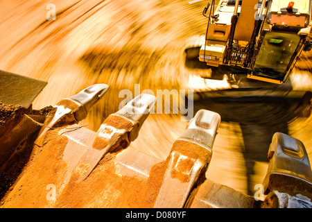 Earth mover claws - Stock Photo