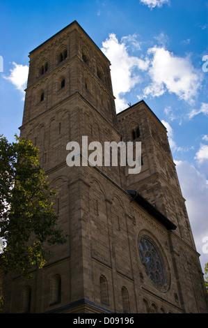 Neu St. Heribert church, Deutz, Cologne, Köln, Nordrhein-Westfalen, Germany - Stock Photo