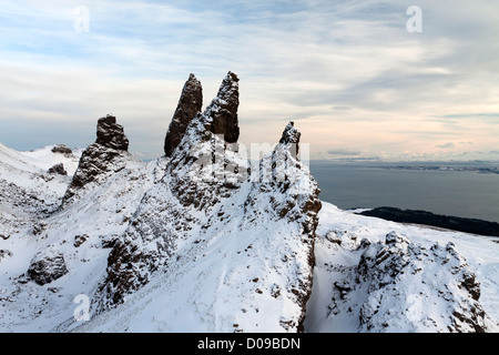 The Storr, Isle of Skye, Scotland, UK - Stock Photo