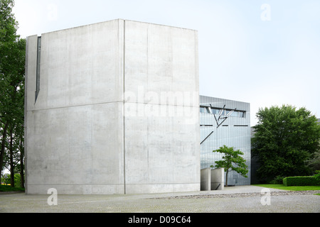 Jewish museum in Berlin designed by Daniel Libeskind - Stock Photo
